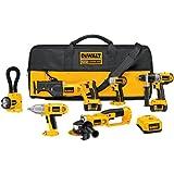 DEWALT DCK675L  18-Volt 6-Tool Cordless Combo Kit with NANO Technology