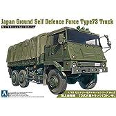 1/72 ミリタリーモデルシリーズ No.2 陸上自衛隊 73式大型トラック 3トン半 プラモデル