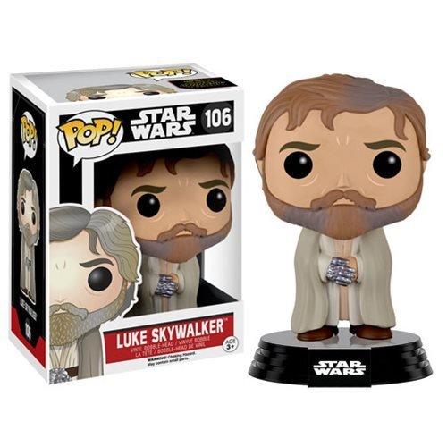 Star Wars: The Force Awakens Bearded Luke Skywalker Pop! Vinyl Figure by SW