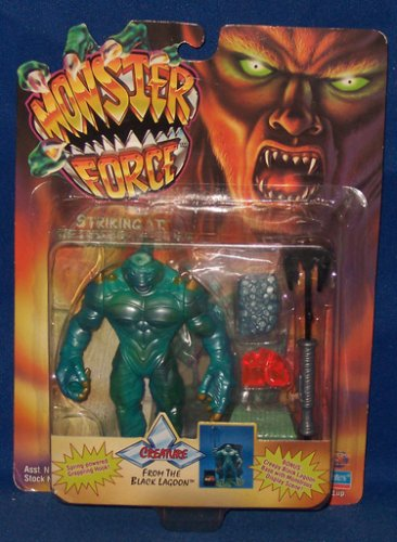 "5½"" Creature From the Black Lagoon Action Figure - Monster Force Striking At the Heart of Evil - 1"