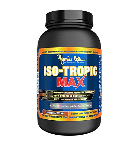 Ronnie Coleman Signature Series Iso-Tropic Weight Loss Product, Toasted Almond, 2 Pound