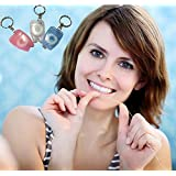 Sellify Drop Shipping 15 M Dental Floss For Teeth Cleaning Oral Care Kit Dental Hygiene Mint Fragrance Portable Teeth Keychain HG0318R - B06ZZ5SYG4