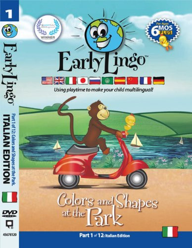 Early Lingo Colors and Shapes at The Park DVD (Part 1 Italian) (Italian Baby Dvd compare prices)
