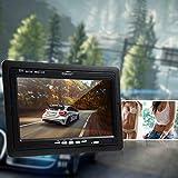 CARCHET-Auto-Rckfahrvideosystem-7-TFT-Monitor-Rckfahrkamera-9xInrarot-LED-Nachtsicht