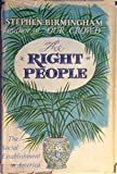 The Right People: A Portrait of the American Social Establishment