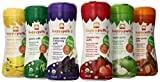 HAPPYBABY Organic Puffs Sampler 6 Count 60g each Strawberry Sweet Potato Banana Purple Carrot and Blueberry Green Puffs Apple Size 6 x 60g BabyBabeInfant Little ones