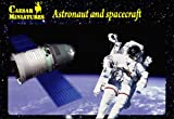 Astronauts & Spacecraft - 1/72 Plastic Figures by Caesar Miniatures