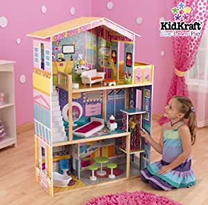 New Kidkraft My Super Groovy Dollhouse