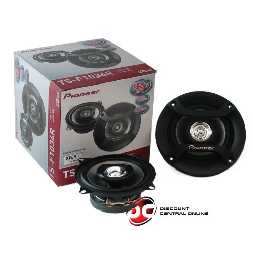 Pioneer Ts-F1034R 4-Inch 2-Way Car Audio Speakers (Pair)