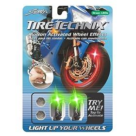 Street FX 1042199 Tire Technix Moto Hex Green Light