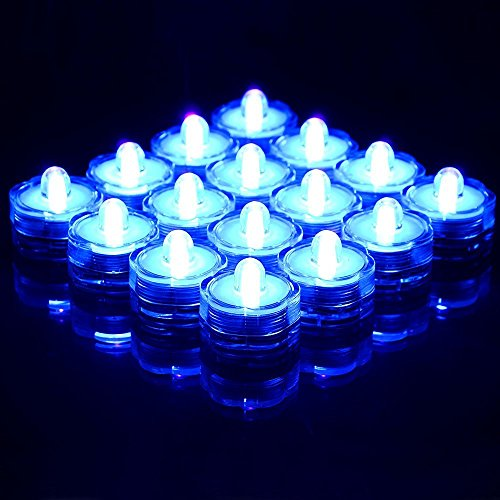 Socool Mart New Decoration Light Led Submersible Waterproof Floral Decoration Party Tea Light Wedding Light(36Pcs)