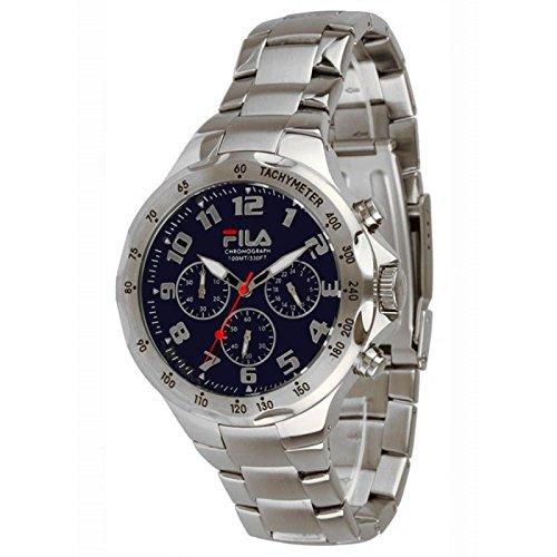 Fila FA0795-32 - Reloj de pulsera hombre, Acero inoxidable, color Plateado