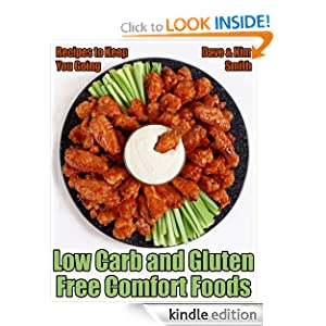 FREE KINDLE BOOK: Low Carb and Gluten Free Comfort Foods