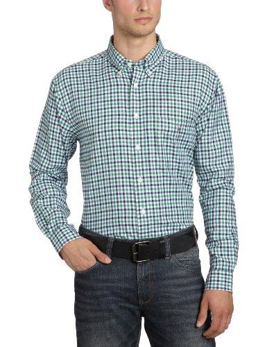 Gant Men's 309280 Casual Shirt Green (Parsley Green) 48