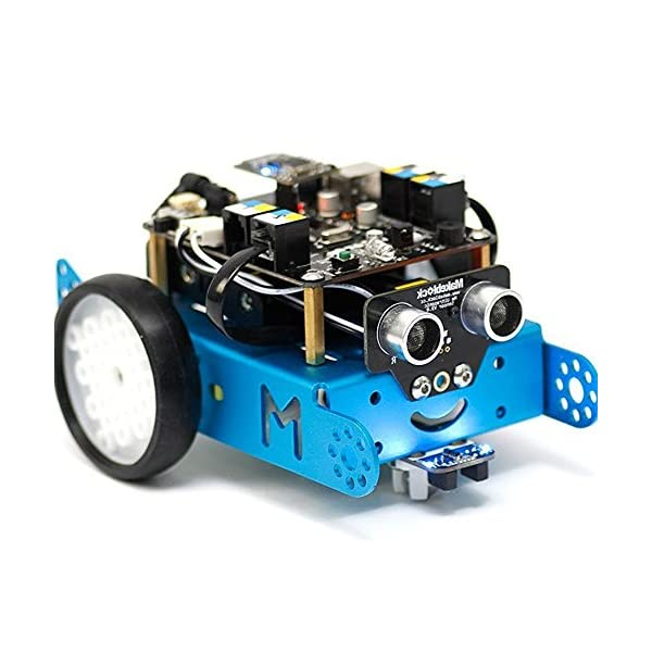 Makeblock mBot 1 0 Kit - STEM Education - Arduino - Scratch 2 0 -  Programmable Robot Kit for Kids to Learn Coding, Robotics and Electronics -