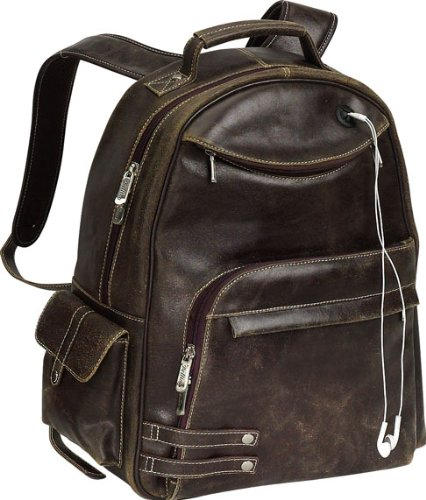 THE Rebel Distressed Leather Backpack (Bellino) Review image