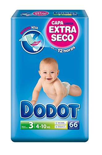 Dodot-Pannolini per bambini, taglia 3, 4-10 kg-66 pz