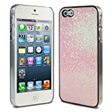 Lumii Ark Bling Bling Glitter Luxury Crystal Design Hard Case for Apple iPhone 5 - Light Pink Glitter