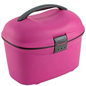 vanity case rigide samsonite pp cabin 42084 couleur rose bagages. Black Bedroom Furniture Sets. Home Design Ideas