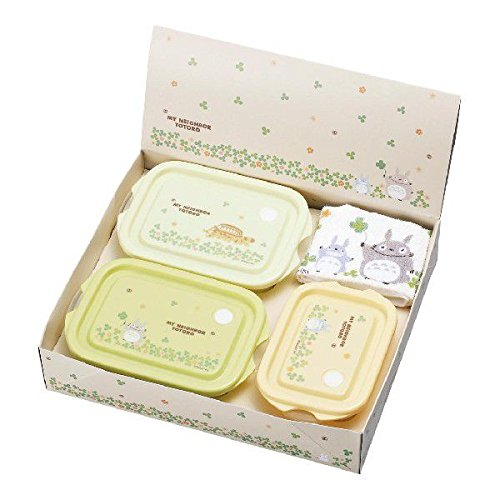 Totoro Totoro food container 3-piece set