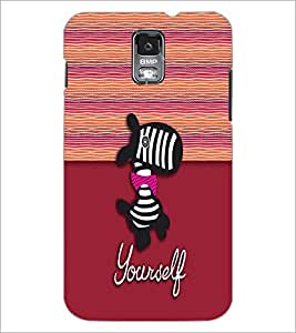 PrintDhaba Cartoon D-3331 Back Case Cover for SAMSUNG GALAXY S5 (Multi-Coloured)