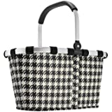 Carry Bag - Reisenthel Collapsible Bag or Market Basket Fifties (Houndstooth) Pattern