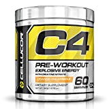 Cellucor - C4 Fitness Training Pre-Workout Supplement for Men and Women - Enhance Energy and Focus with Creatine Nitrate and Vitamin B12, Orange Dreamsicle, 60 Servings