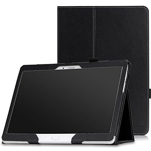 MoKo Huawei MediaPad M2 10 Case - Premium Leather Lightweight Slim-Folding Cover Case for Huawei MediaPad M2 10 inch Tablet,...