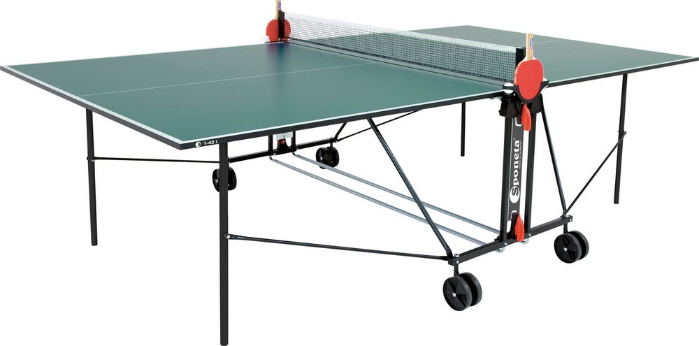 Tischtennistisch Indoor Grün, (L X B X H): 155,5 X 74 X 165,5cm jetzt kaufen