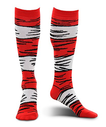 elope Dr Seuss Cat in the Hat Kid's Knee High Socks