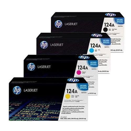 HP Toner Cartridge (ZNH-Q6000KCMY-02) (4 Pack Set) any 1 lcl 643a q5950a q5951a q5952a q5953a 1 pack toner cartridge compatible for hp laserjet 4700color series