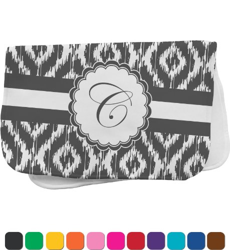 Ikat Personalized Burp Pad front-973538
