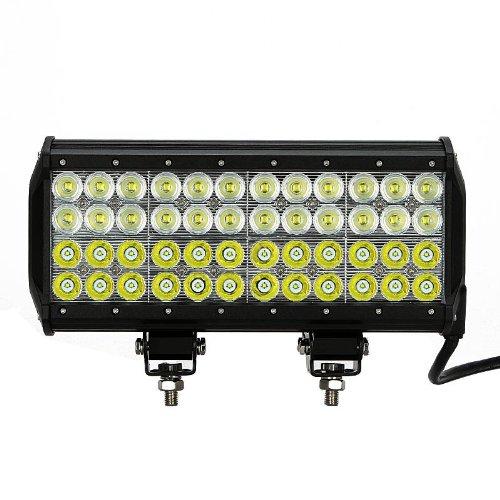 "13.5"" 144W Led Light Bar 10080Lm~14400Lm 48X3W Cree Led Ip67 24V 12V Truck Suv Van Camper Wagon Car Pickup Off-Road Pencil Beam 30 Flood Beam 60 Degree Driving Work Light"