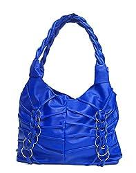 Vintage Stylish Ladies Handbag Blue(bag 170)