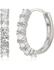 Sia Art Jewellery Clip On Earrings For Women (Silver) (AZ3524)