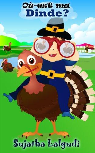 Couverture du livre Où-est ma dinde? - Un livre d'images sur Thanksgiving pour les enfants