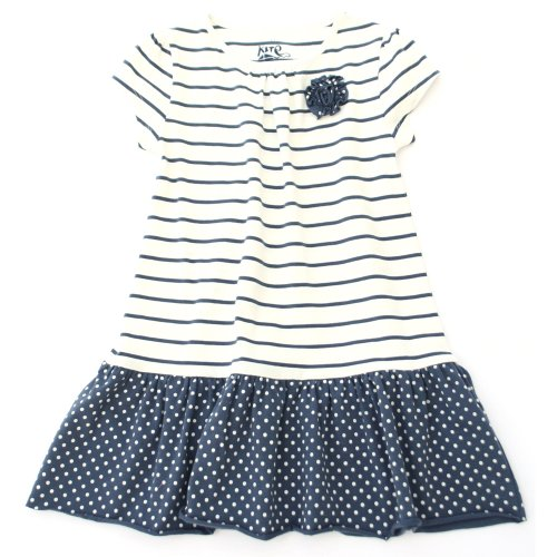 Buy Kite Kids Girls' Nautical Spot and Stripe Dress