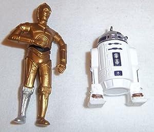 1997 Hallmark C-3PO and R2-D2 Miniature Star Wars Hallmark Ornament