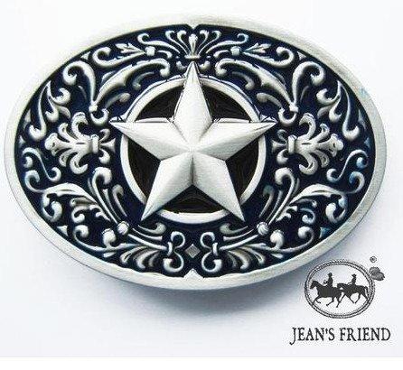 belt new rare buckles men western cowboys cool vintage lone star black silver ornate