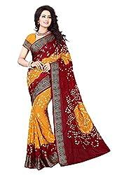 Mahek Fashion Hub Women's Cotton Silk Saree (MMAHE29598287160_Multicolour)