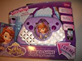 KIDdesigns Sofia The First Time to Shine Singe-Along Boombox