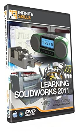 Learning Solidworks 2011 Training DVD - 11 Hours of Video