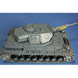 HengLong 1/16 IV号F2型(金属キャタピラ・赤外線バトルシステム・サウンド・発煙仕様)German DAK Pz.Kpfw.IV AufsF2.Sz.Kfz Tank Metal Tracks