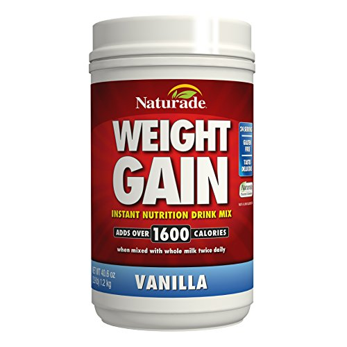 Naturade Weight Gain Instant Nutrition Drink Mix, Vanilla, 40.6 Ounce (Cb 1 Weight Gainer compare prices)