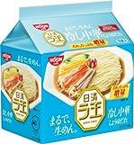 日清ラ王  冷し中華 しょうゆだれ 1ケース(30食)(5P入×6袋)