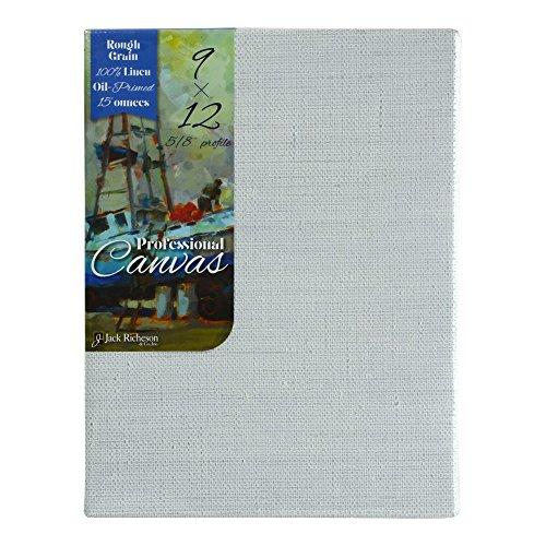 richeson-pro-canvas-oil-rough-linen-9x12