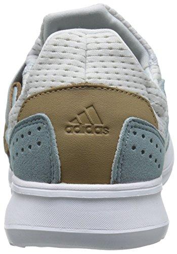 Adidas Performance Women's Lite Slip-On W Women's Running Shoe, Grey/White/Grey, 8.5 M US