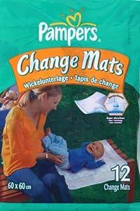 Pampers Changemats Baby Mats Normal 12
