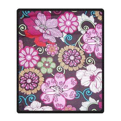 dalliy-coutume-vera-bradley-flower-couverture-polaire-fleece-blanket-50-x-60-about-127cm-x152cm