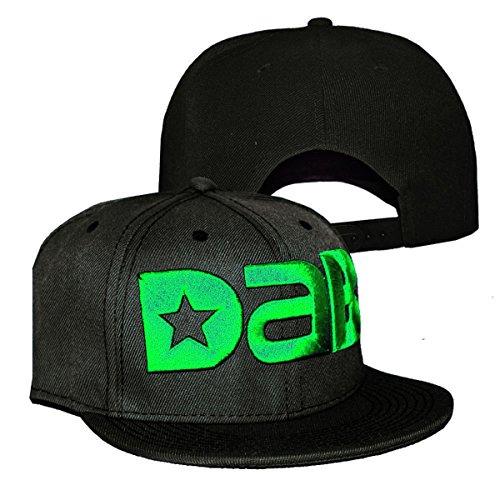 DAB-Logo-Cap-Snapback-Hat-Design-Multiple-Colors-Black-Green